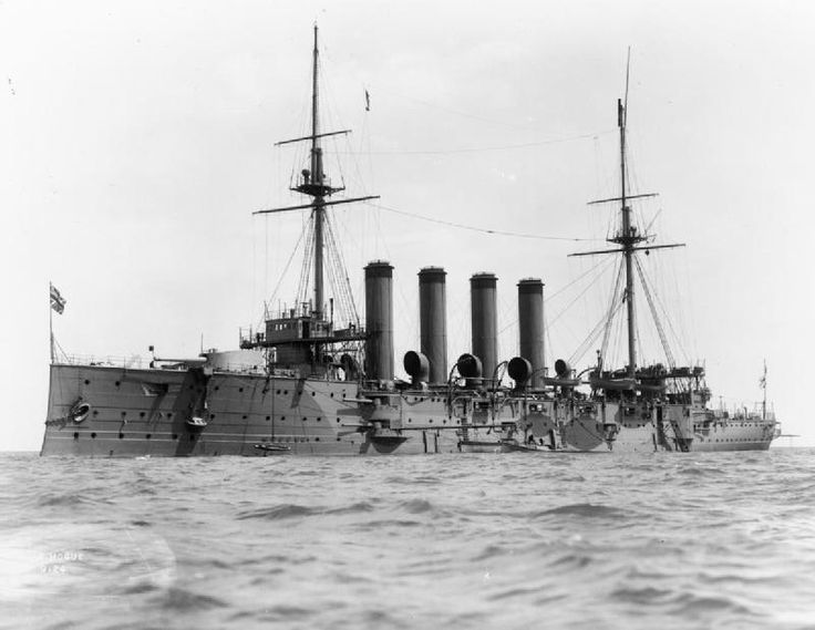 HMS Hogue lost 22 September 1914. Read more on Ulster men lost: http://historyhubulster.co.uk/livebait-squadron/