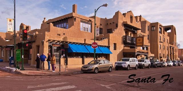 La Fonda - Santa Fe    Santa Fe Plaza  Love to eat lunch there!