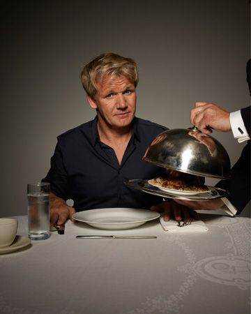 Everything I learned about running my business, I learned from Gordon Ramsay (even though I'm not a professional chef). Hope he likes my cooking!
