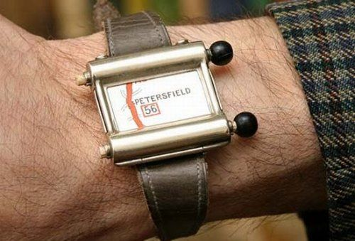 Tripmaster 1930 Iter Avto 'The Plus Fours Wristlet Route Indicator' was designed even earlier than Iter Avto in 1927 by Britain. According to the National Trust in Britain, it was the first navigation device made expressly for motorists.