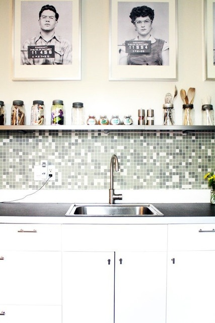 Natalie and Kevin's Perfect Parkdale Perch House Tour: House Tours, Apartment Interior, Kevin S Perfect, Kitchen Sink, Apartment Therapy, Perfect Parkdale, Kitchen Design, Natalie, Parkdale Perch