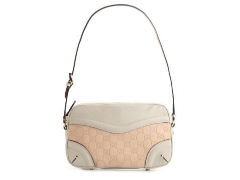 Gucci Small Signature Leather Shoulder Bag 26