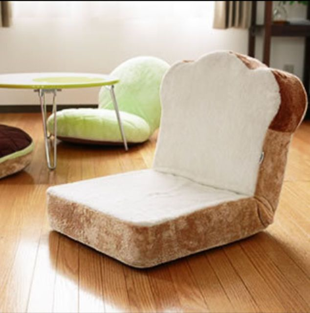 Yummy Interior Design Bread Chair For When You Are Loafing Around Find This Pin And More On Food Shaped Furniture
