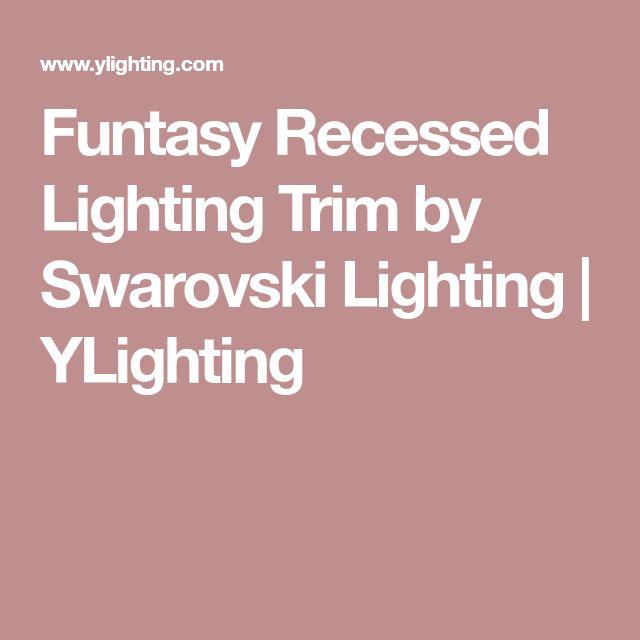 Funtasy Recessed Lighting Trim by Swarovski Lighting | YLighting