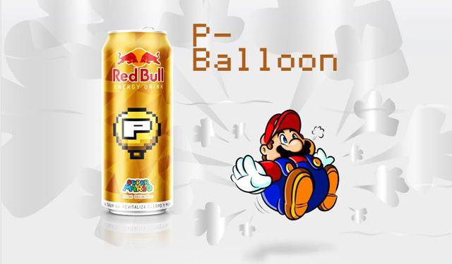 Latas de Red Bull personalizadas Super Mario | Nerd Da Hora