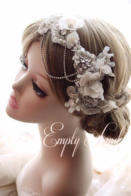 free shipping Handmade Original design women fashion bride hair bands accessories crystal flowers birthday gift wedding photography props