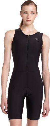 Danskin Women's Triathlon Solid Tri-Suit,Black,XL (16-18) - http://www.exercisejoy.com/danskin-womens-triathlon-solid-tri-suitblackxl-16-18/fitness/