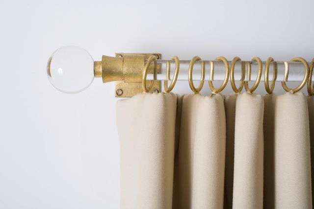 Specialty Glass Curtain Rods, MT Custom