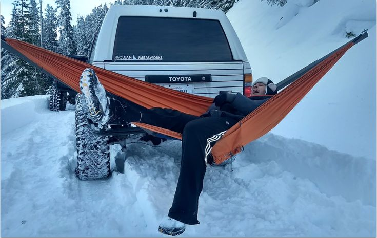 Chill out anywhere you can drive to with a truckmounted