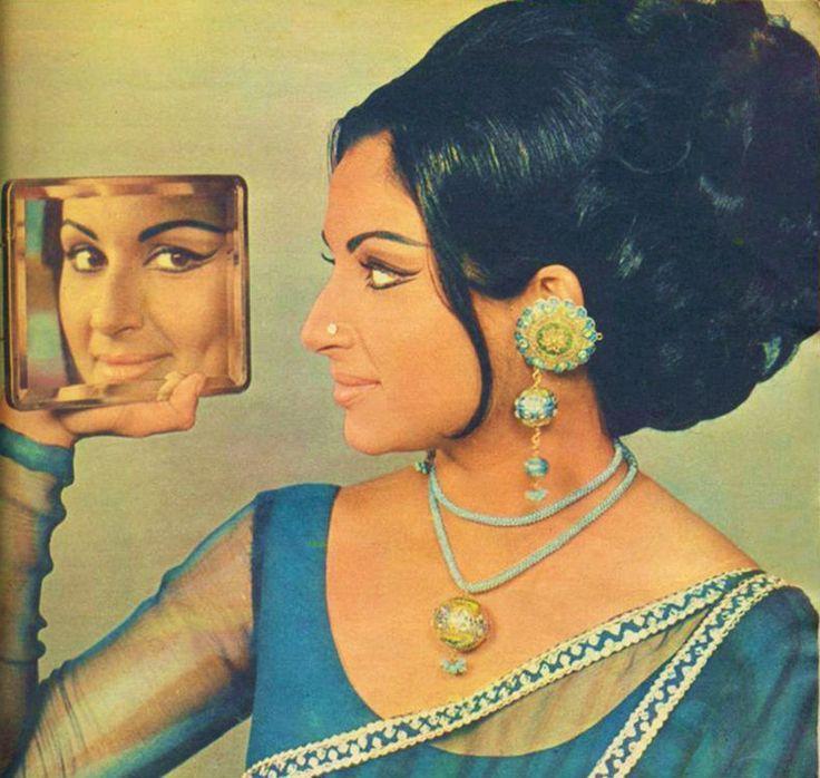 Retro India - fab hair and make-up