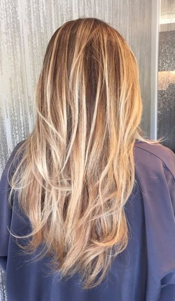 honey blonde and platinum highlights with chocolate brown lowlights... Want rose gold highlights
