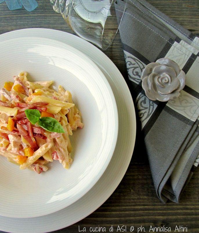 PENNE+ALLA+ZINGARA+Ricetta+primo+piatto