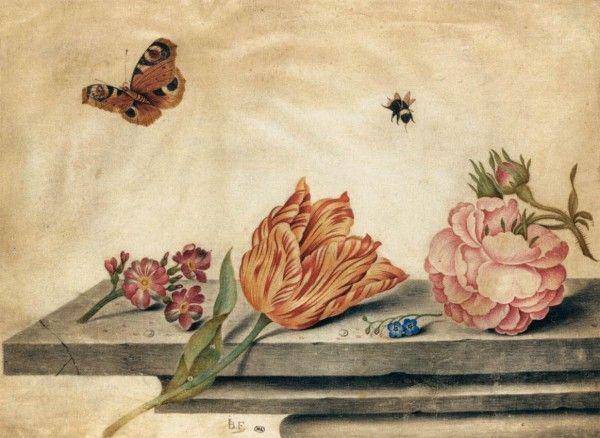Мир голландского цветочного натюрморта.Амброзиус Босхарт Старший | Волшебная сила искусства