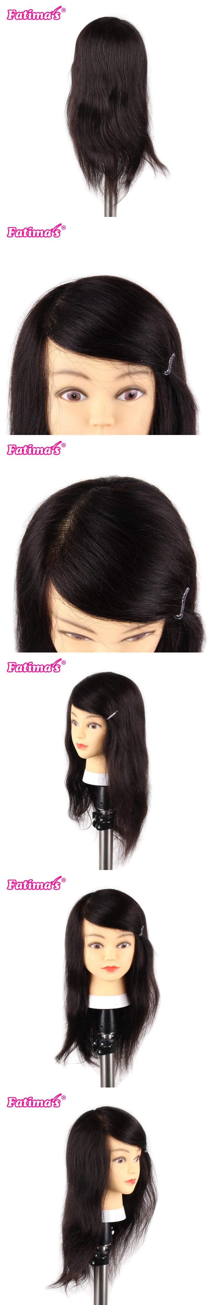 Mannequin Professional Hairdressing Training Heads 100 Human Hair Best Quality Female Mannequin Head With Natural Black Hair