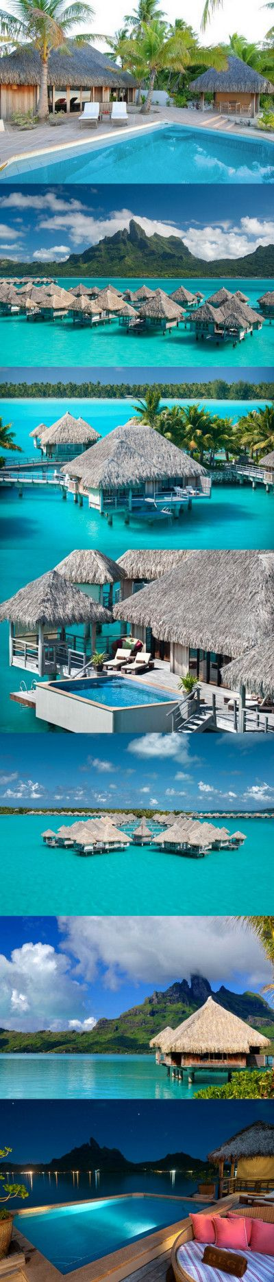 Once there you can relax and enjoy the beautiful water and views that Bora Bora offers