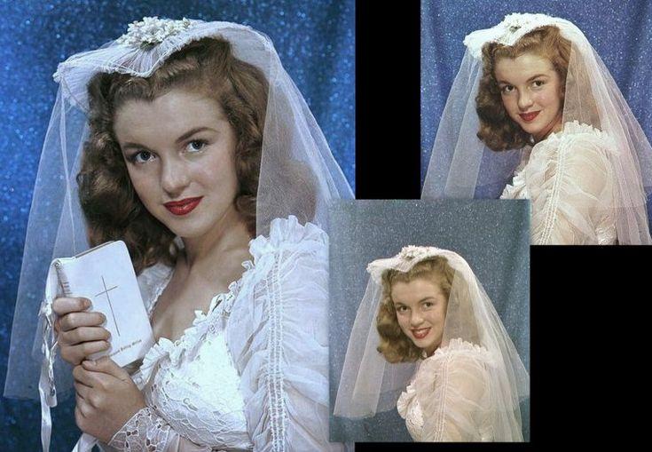 En 1941, Norma Jeane fait la connaissance de James « Jim » DOUGHERTY,