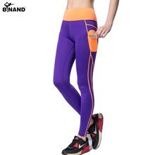 2017 Push Up Spandex Yoga Pants With Side Pocket Patchwork High Waist Elastic Leggings Gym Workout Clothes Women Running Pants //Price: $US $14.13 & FREE Shipping //