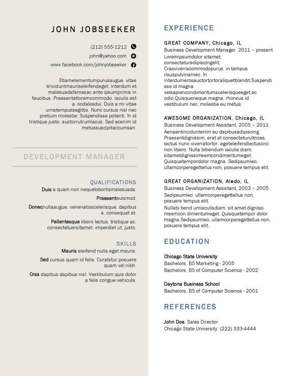 13 best resume images on pinterest resume ideas resume - Buy Resume Templates