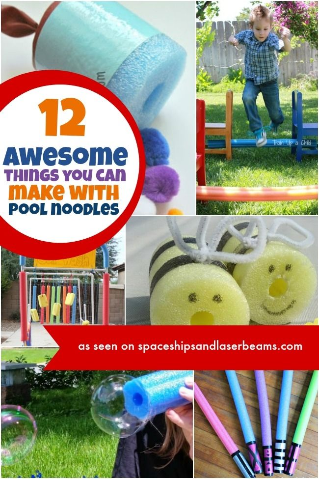Ideas for Using Pool Noodles