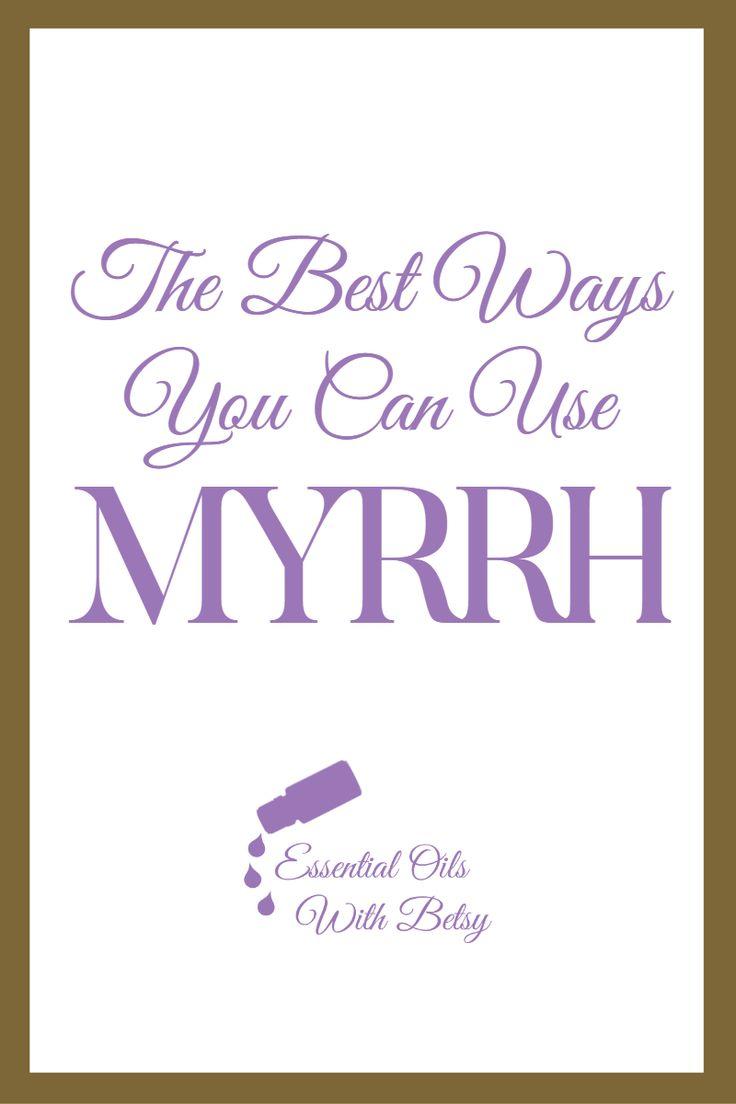 how to use myrrh gum