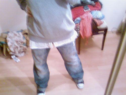 и снова говно_телефоно_фото моей осени вообще хочется выкинуть все что в шкафу. все эти обтягивающие джинсы, тупые свитерочки, нелепые юбки хочется…