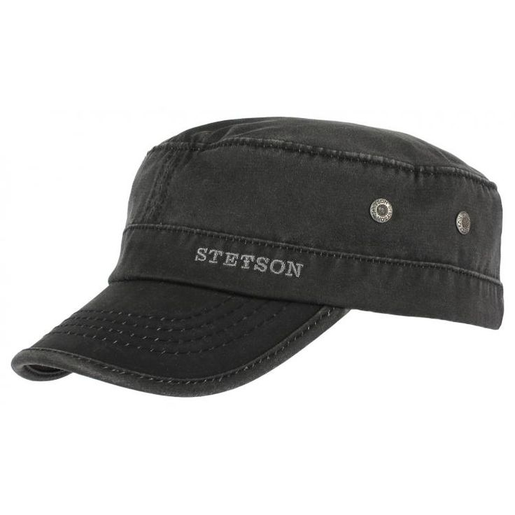 Datto Army Cap by Stetson