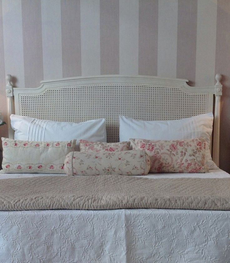 Cabecero cama rejilla francesa