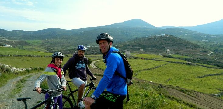 AWAKE #mountain Bike in #Paros, #Greece