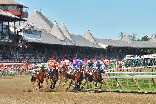 9. Summery place/travel - Saratoga Springs Racetrack: Saratoga Spring, Hors Racing, Endless Summer, Favorite Places, Spring Racetrack Wher, Saratoga Racing, Racing Track, Racing Course, Saratoga Racetrack