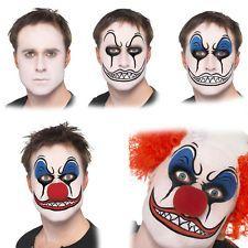 Clown Make up Kit – trucco da Halloween clown kit Pittura Viso Accessori Effetti