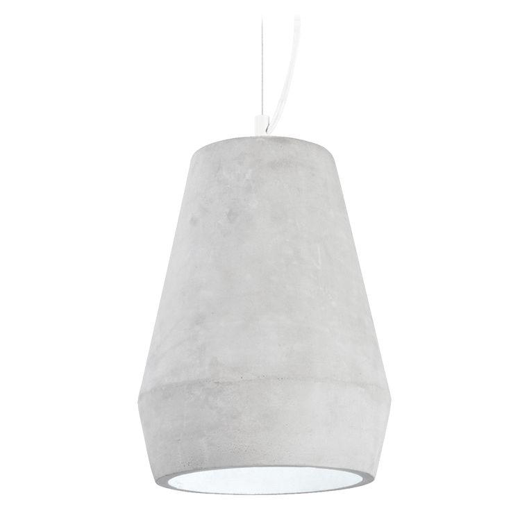 Concrete hanging lamp by Scandinavian designer M.Syrjälä Corner 1