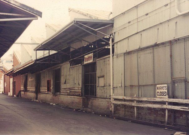 Perth Metropolitan Markets, 1988. This site is now home to Harbour Town.