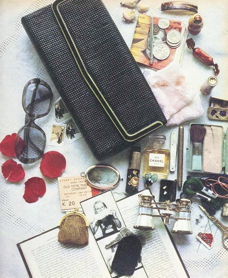 1970s Glomesh purse
