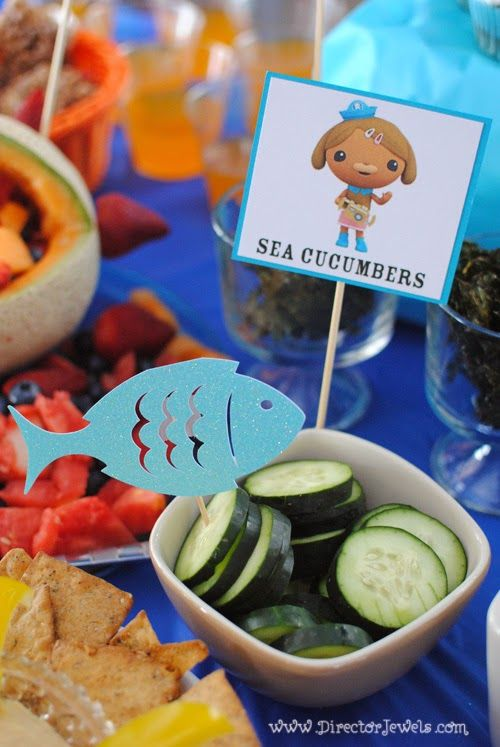 Octonauts Birthday Party Food Ideas
