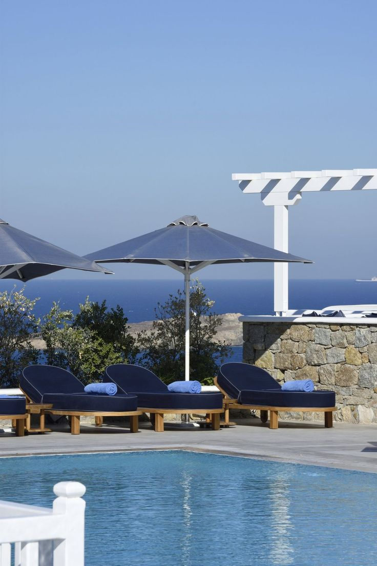 Summer is here! Live it and enjoy every moment! #Experience #MyconianKyma #Poolside #Vacations