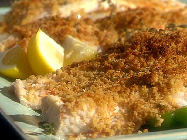 Fresh Thyme, Garlic and Lemon Broiled Catfish with Bread Crumbs -- I ...