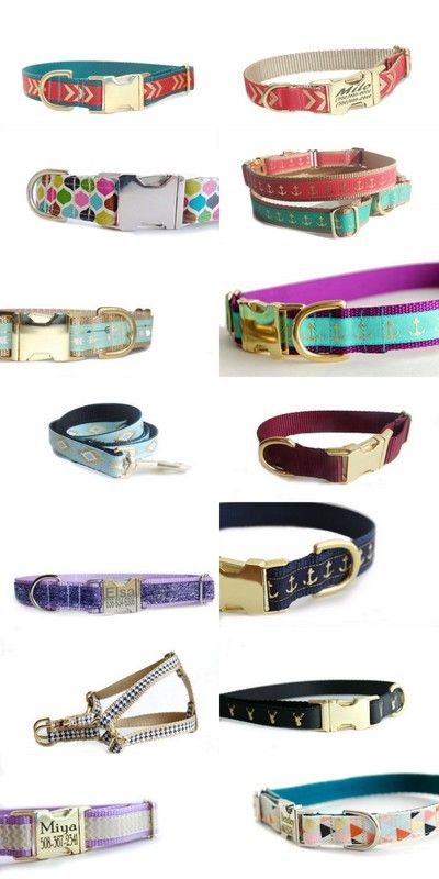 Mutts-n-bones dog leashes, collars, and more. Unique dog collars. #dogaccessories