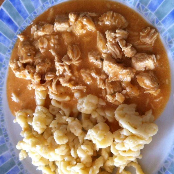 Rezept Curry Geschnetzeltes von meusterin - Rezept der Kategorie Hauptgerichte mit Fleisch