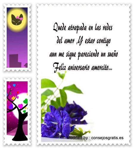enviar bonitos mensajes de aniversario,descargar mensajes de aniversario:  http://www.consejosgratis.es/versos-de-aniversario-de-amor/