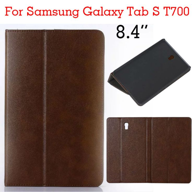 Case for Samsung Tab S 8.4 T700 Tablet PU Leather Case Shockproof slim Stand Case for Samsung Galaxy Tab S T700 Protective Cover #Affiliate