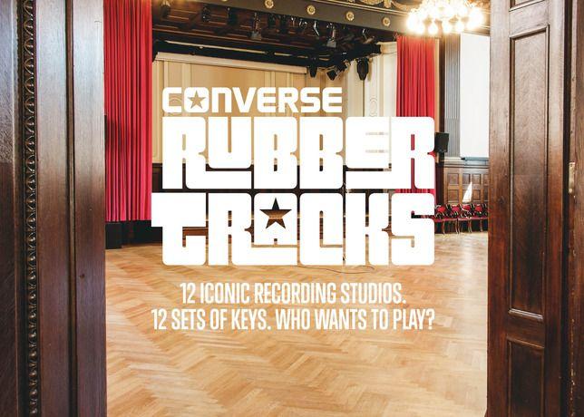 Converse - CONVERSE RUBBER TRACKS UNLOCKS THE DOORS TO ICONIC STUDIOS AROUND THE WORLD