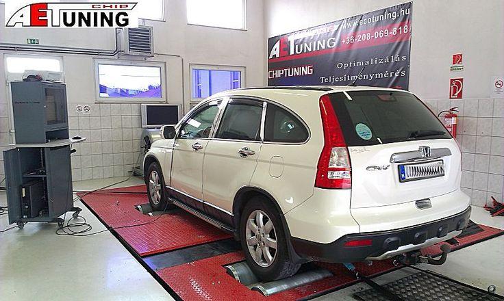 Honda CR-V 2.2i-CTDI GYÁRI chiptuning…vagy mi. Dyno padon mérve.