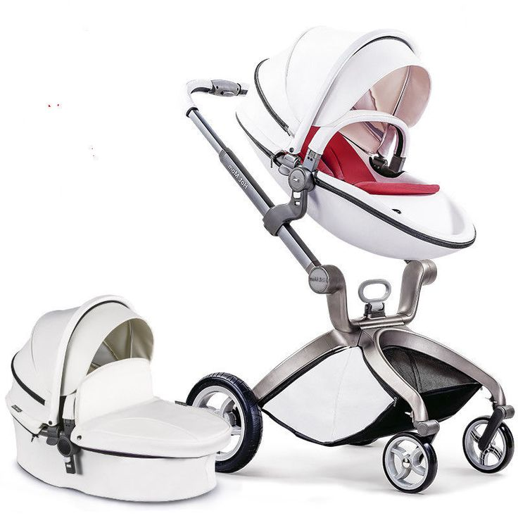 Luxury Baby Travel System Pushchair Pram High View Infant Baby Stroller  #Unbranded