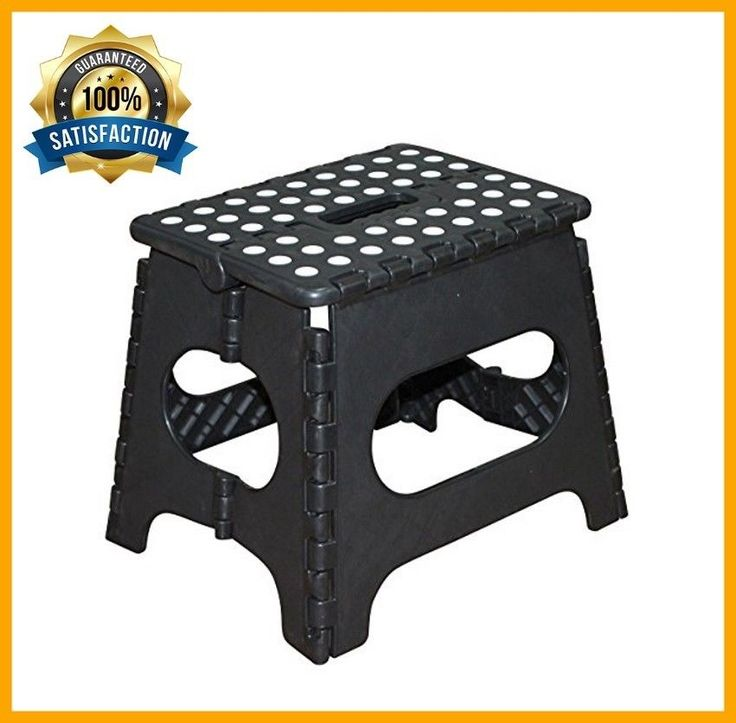 Folding Step Plastic Stool Durable Portable Small RV Trailer Non Slipping Home #Jeronic