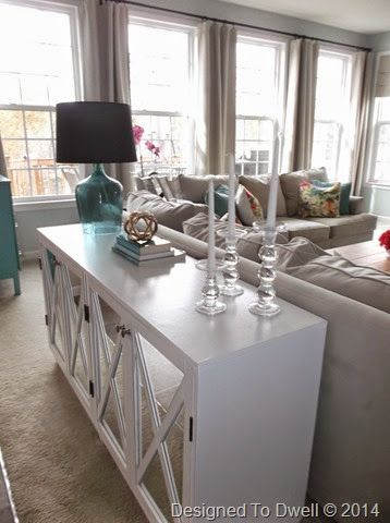 designed to dwell diy mirrored console cabinet console cabinetconsole tabledining - Dining Room Consoles