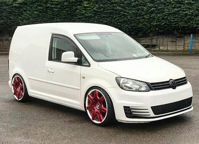 @mrsanjverma 's Caddy Is Mint #ModifiedVans #Volkswagen #Caddy #Caddy2K