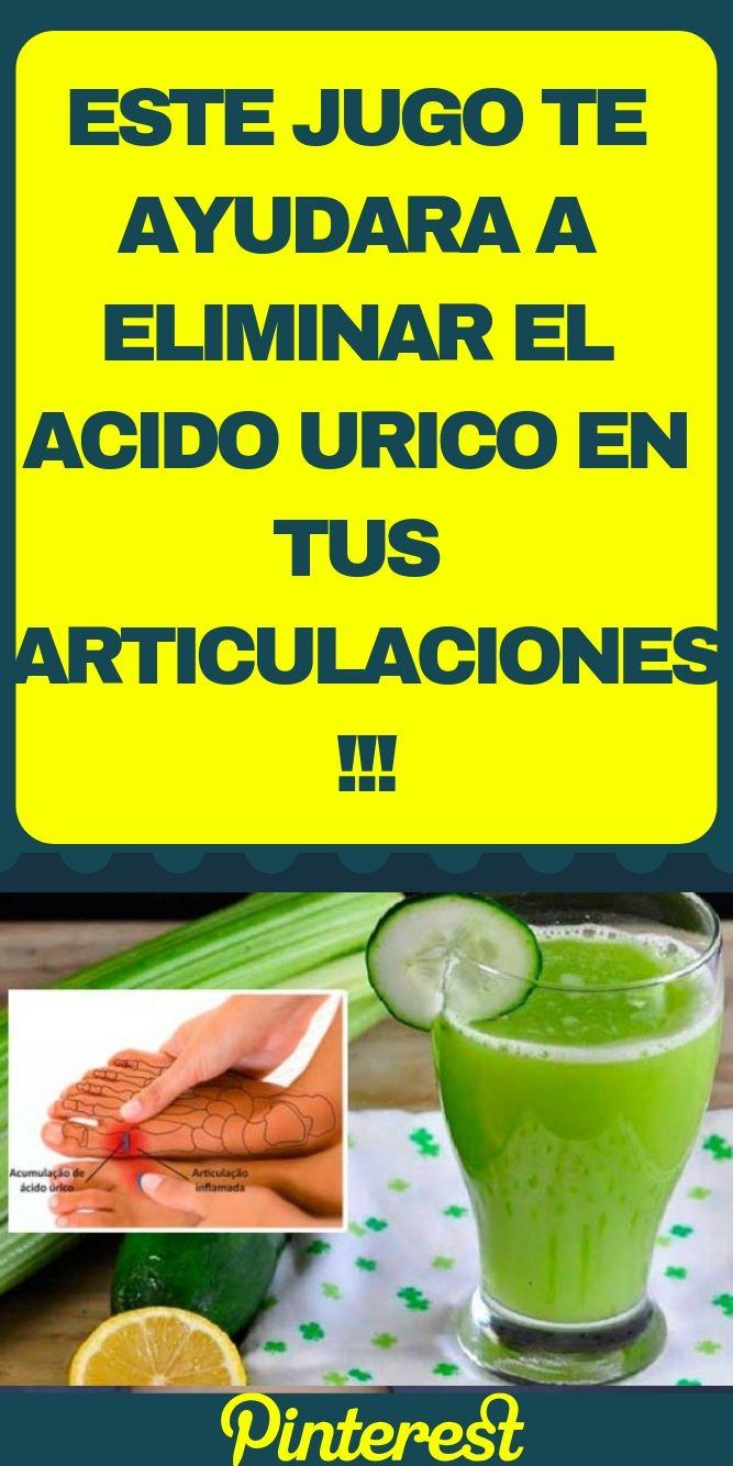 pastillas para quitar el acido urico