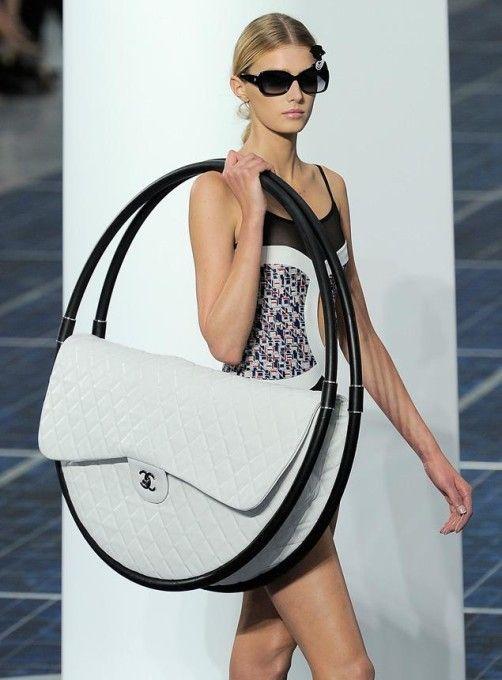 Chanel Hulahup Beach Bag designed by Karl Lagerfeld