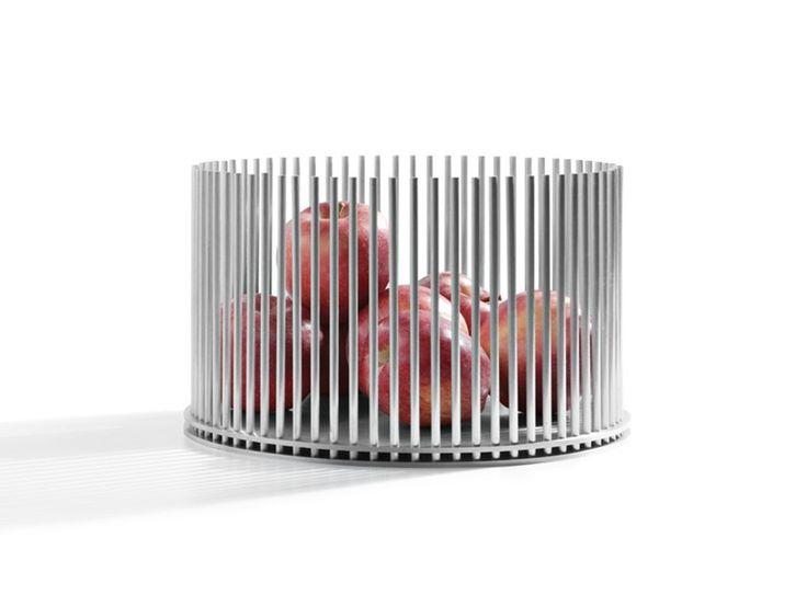 Portafrutta in alluminio PRISONER Collezione Objectives by Atipico design mist-o