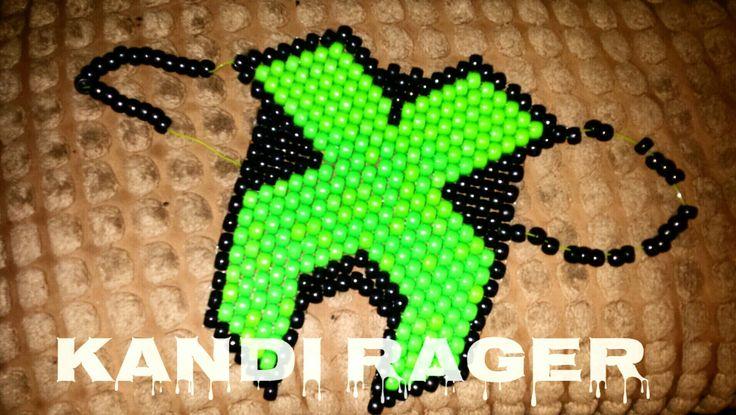 Excision Kandi Mask with Open Nose, EDM, Festival, Raver, Rave, Masks, Etsy, EtsyShop, Rage, Headbangers, Raver, Dance